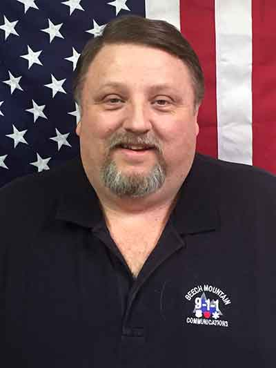 Communications Supervisor David Davis